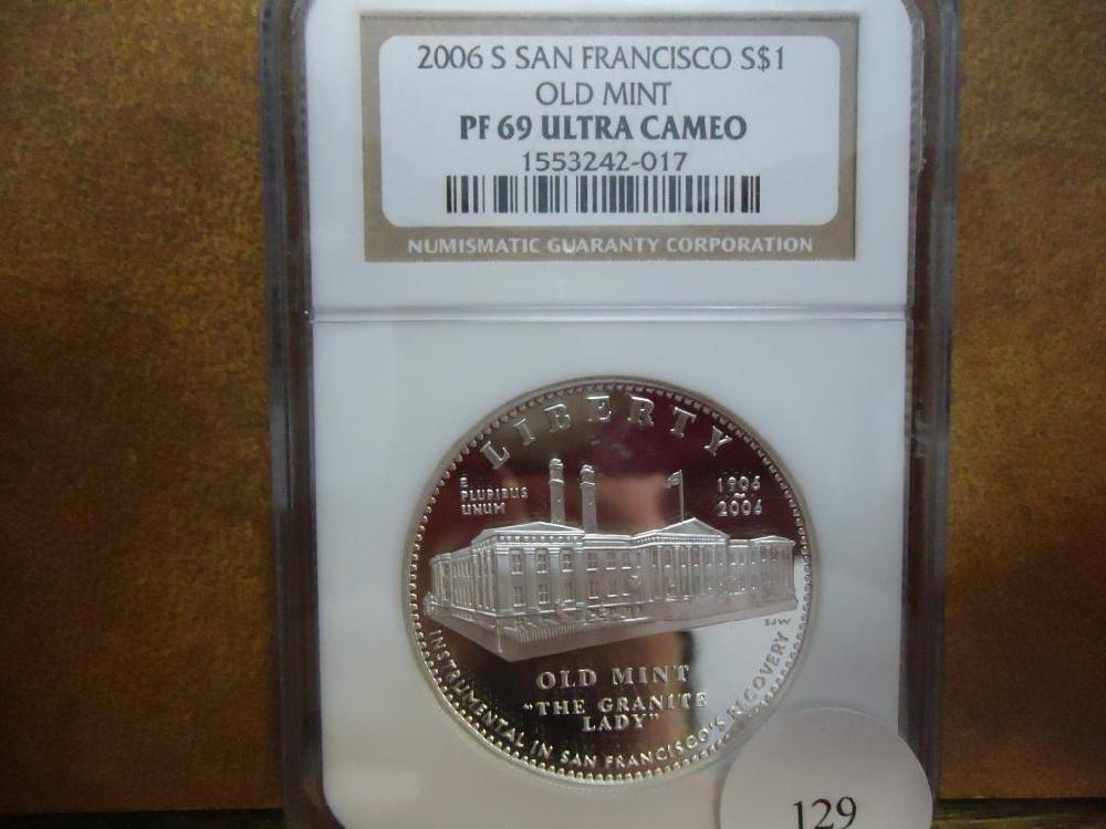 2006-S SAN FRANCISCO OLD MINT SILVER DOLLAR