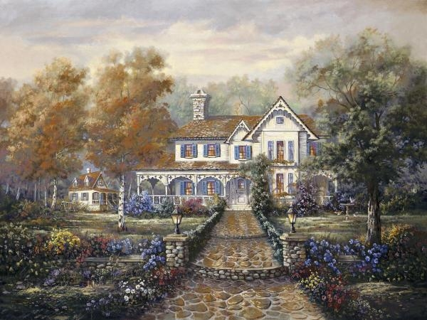Carl Valente - Marissa's Playhouse Garden