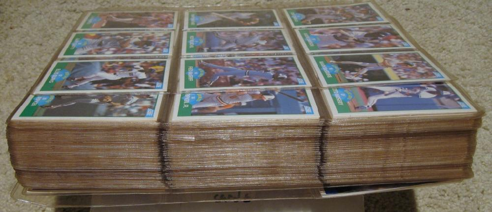 1989 Score Baseball Cards Complete Set