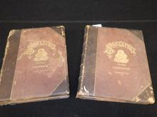19th Century Leather Bound William Shakespeare Books