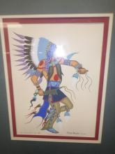 Limited Edition Indian Print by Blue Eagle