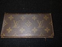 Louis Vuitton Check Book Holder