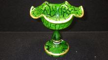 Art Glass Compote