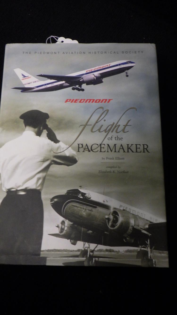 Piedmont Book Flight of the Pacemaker