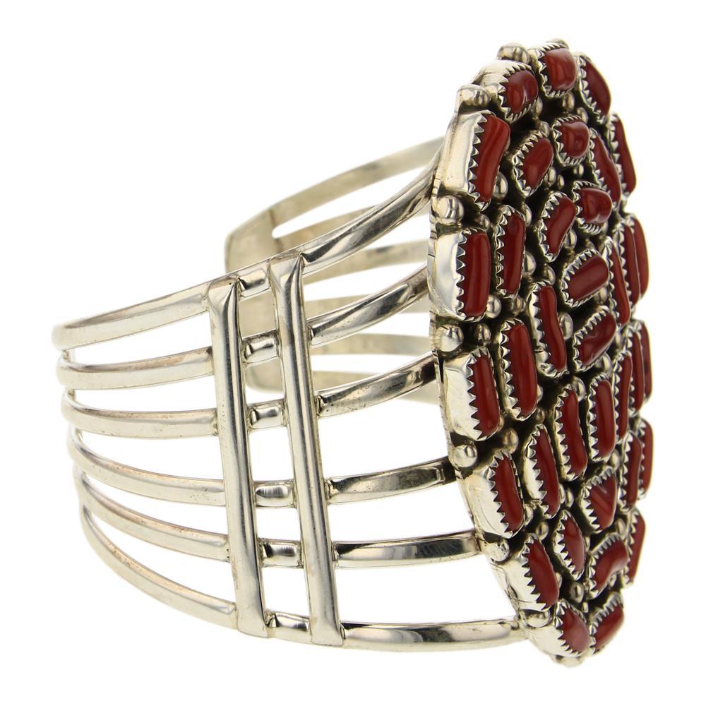 MH Coral Cluster Bracelet