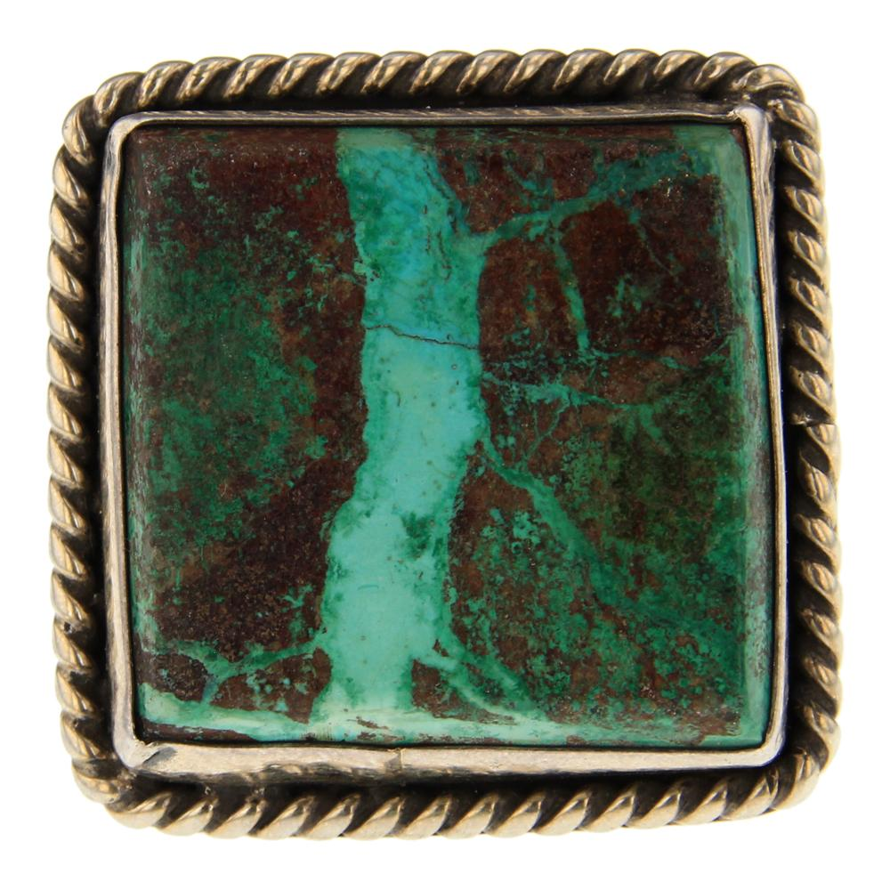 Vintage Nevada Turquoise Ring