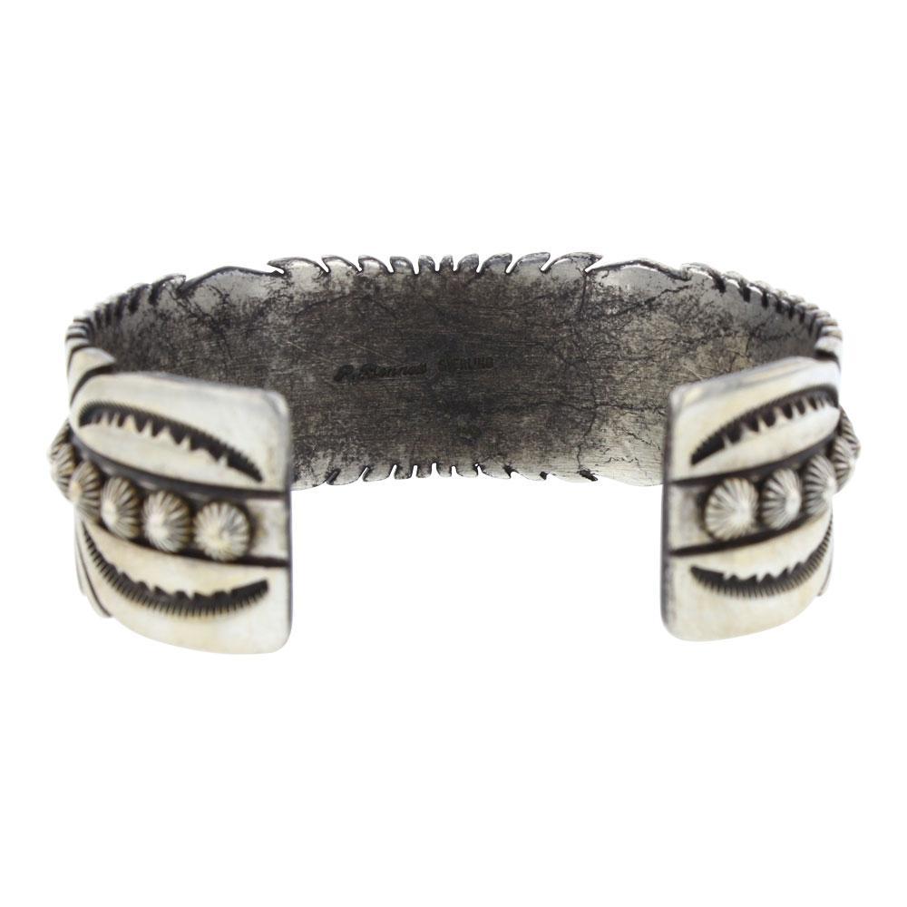 Ray Bennett Vintage Ox Blood Mediterranean Coral Cuff Bracelet