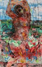 Louis Delsarte, 1944-2020, Untitled (Standing Nude)
