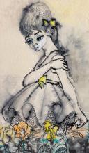 Jeff Donaldson, b. 1924, Young Girl