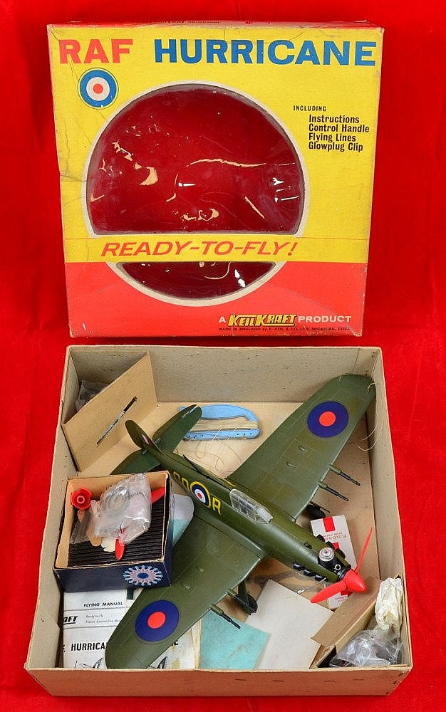 Model Kits : KeilKraft Ready-to-Fly RAF Hurricane,