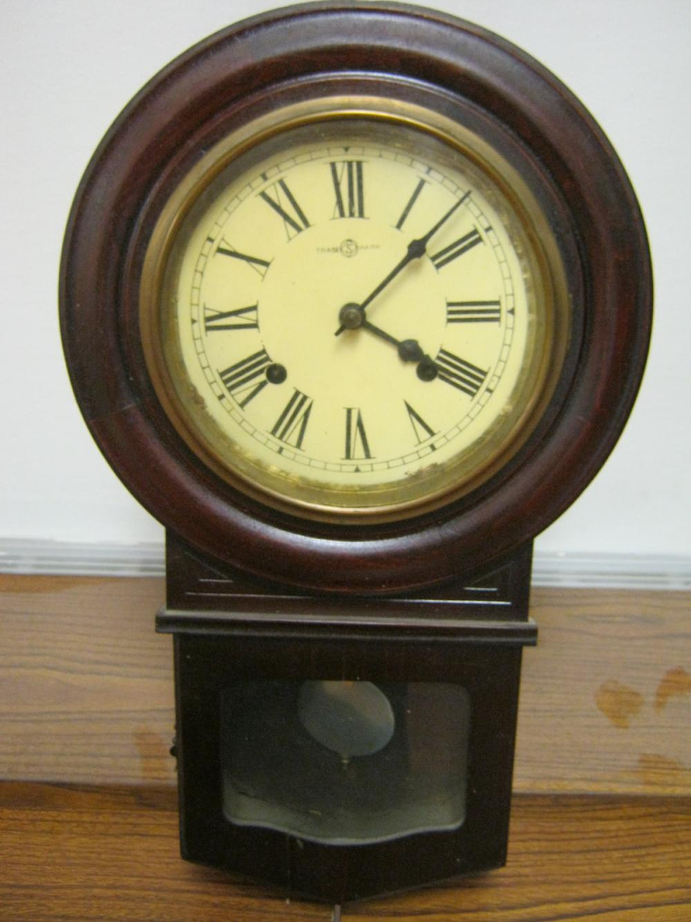 TRADE S MARK WALL CLOCK