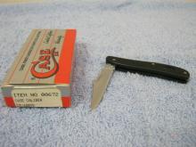 Case #672 1 Blade Pocket Knife NIB