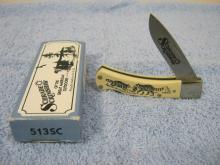 Schrade Scrimshaw 513SC Single Blade Knife NIB