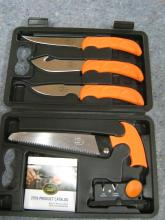 Rmef Outdoor Knife Set NIB