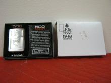 Zippo 500 Million Lighter NIB