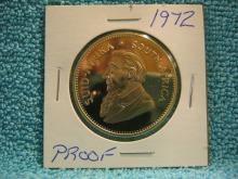 1972 Proof 1OZ Gold Krugerrand