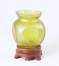 Loetz Stretch Glass Vase