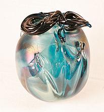 Art Glass Vase signed