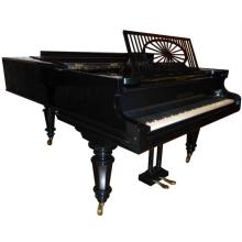 19th Century C. Bechstein Polished Ebony Grand Piano