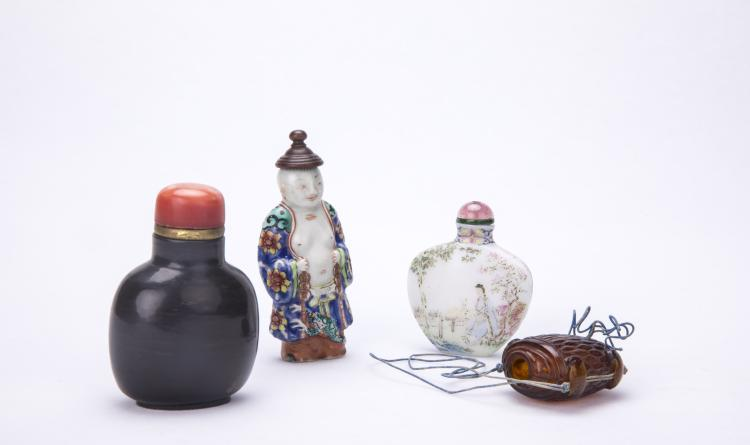 A Set of Chinese Snuff Bottles