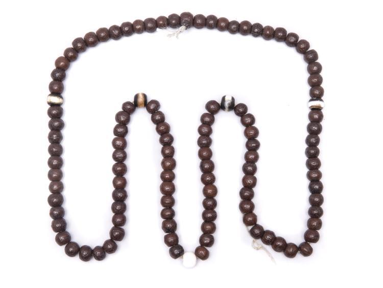 A Set of Chinese Buddha Beads