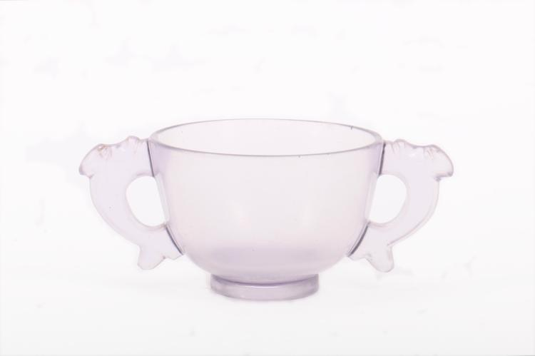 A Chinese Cup with Two  Ears
