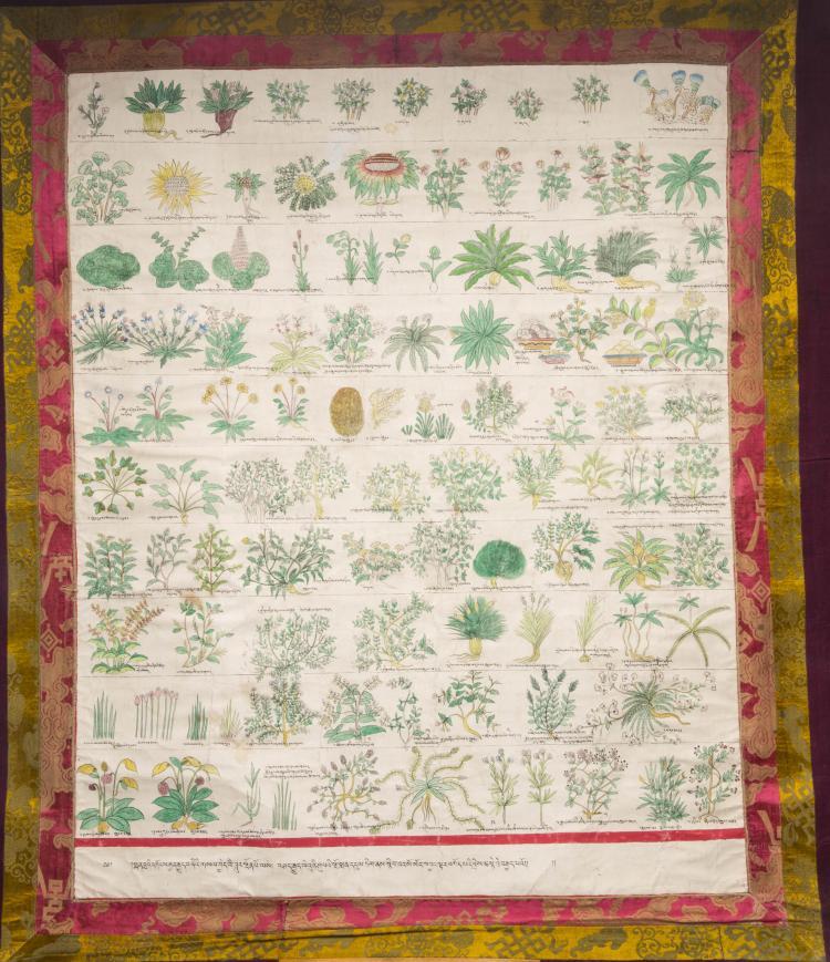 A Chinese Tibet Tangka