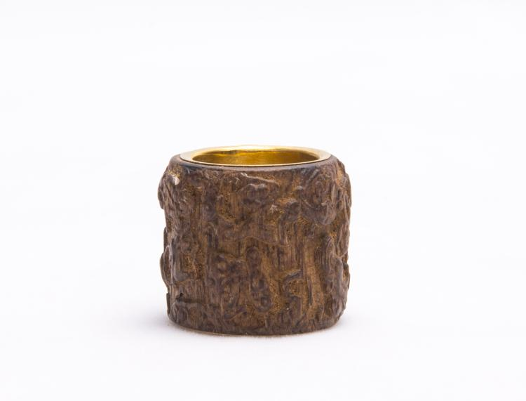 A Chinese Hardwood Archer¡¯s Ring