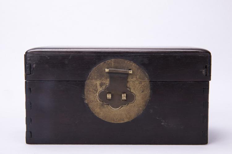 A Chinese Zitan Box