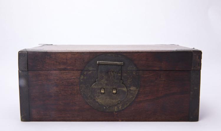 A Chinese Huanghuali Box