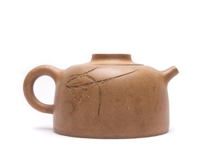 A Chinese Zisha Tea Pot