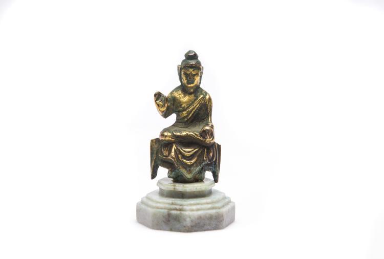 A Chinese Figure of Shakyamuni