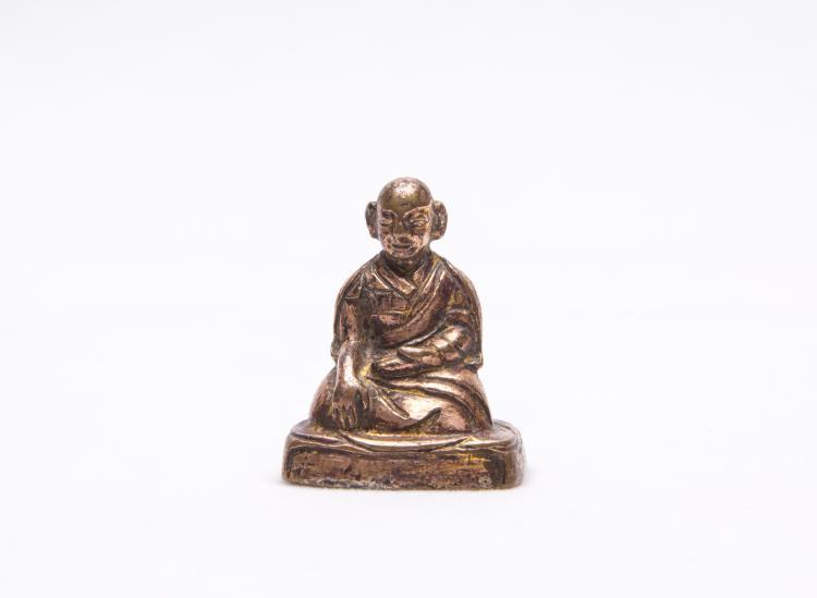 A Chinese Bronze Figure of Buddha