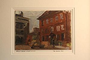 Arthur Stewart Mackay R.O.I. (1909-1998) oil on