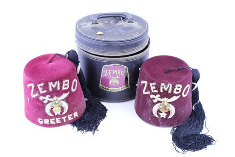 ZEMBO HAT & GREETER HAT W/ BOX