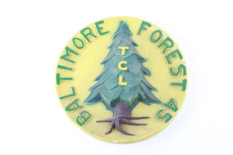 TCL BALTIMORE FOREST CHALK PLAQUE 10
