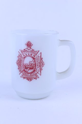 1979 FIRE KING ALLENTOWN PA KNIGHTS TEMPLAR MUG