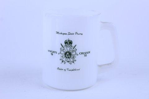 1972 FEDERAL GLASS MICHIGAN STATE MUG