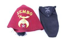ZEMBO HAT W/ BAG