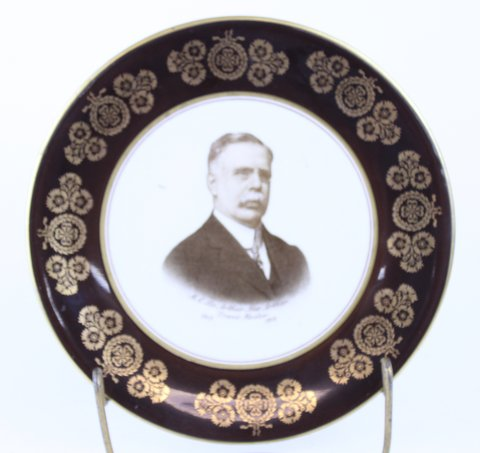 ANTIQUE MASONIC PLATE 1916