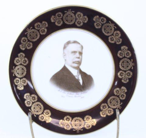 ANTIQUE MASONIC PLATE 1916