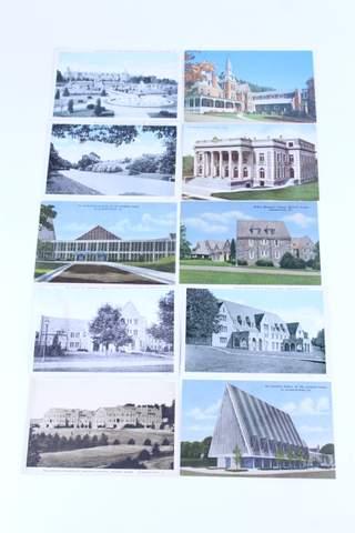 LOT OF 10 MASONIC POST CARDS