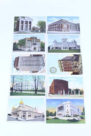 LOT OF 10 MASONIC POST CARDS