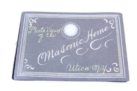 12 PHOTO VIEWS OF MASONIC HOME UTICA NY IN ALBUM