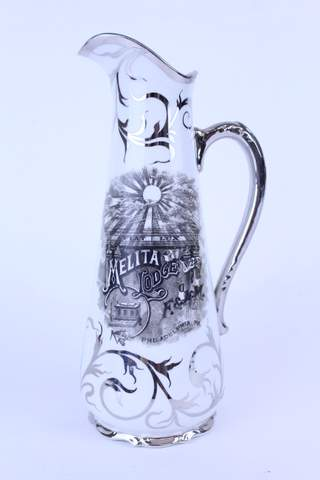 1909 MELTA LODGE PHILADELPHIA PA PITCHER EWER 11