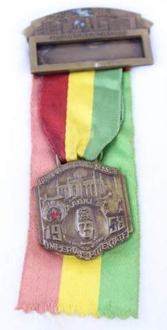 1958 CHICAGO ILL. REPRESENTATIVE RIBBON MEDAL