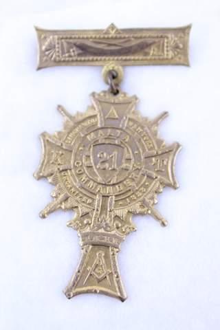 MALTA COMMANDERY NO.21 BINGHAMTON NY ORGANIZED 1858