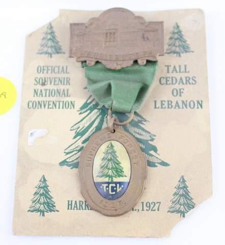 1927 TCL SOUVENIR JEWEL PIN