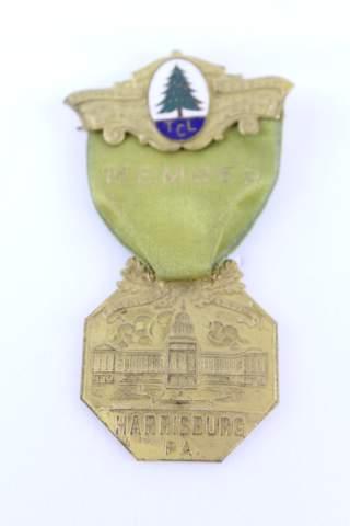 1927 TCL HARRISBURG PA MEMBER JEWEL PIN