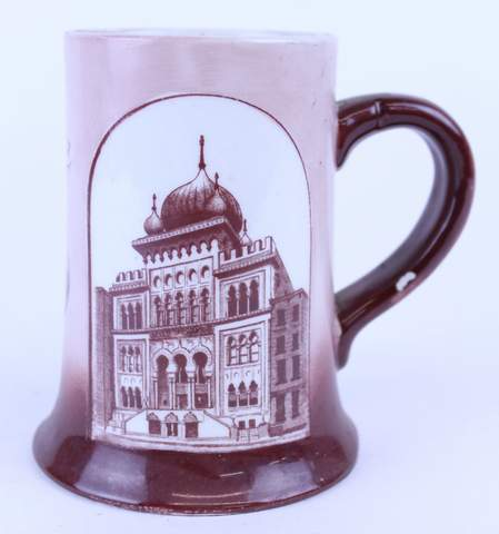 1904 LULU ATLANTIC CITY STEIN TANKARD